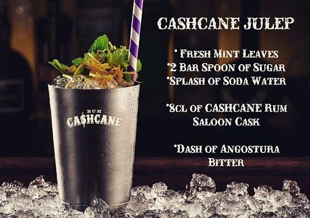 Cashcane Julep - Drink Saloon Cask