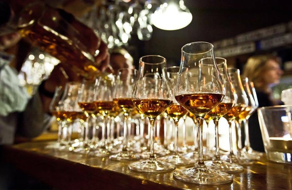 Rumové poháre