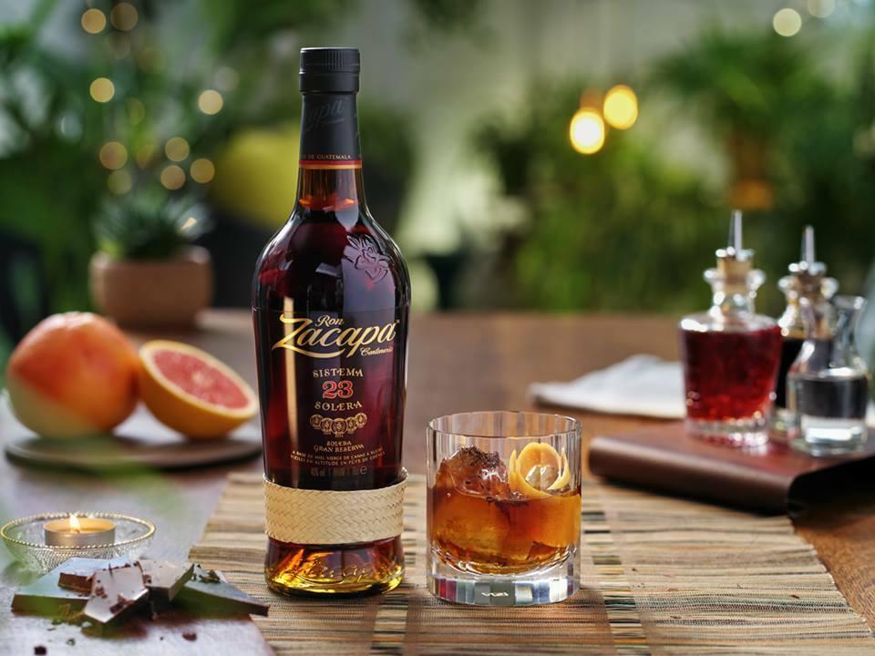 Zacapa rum chuť