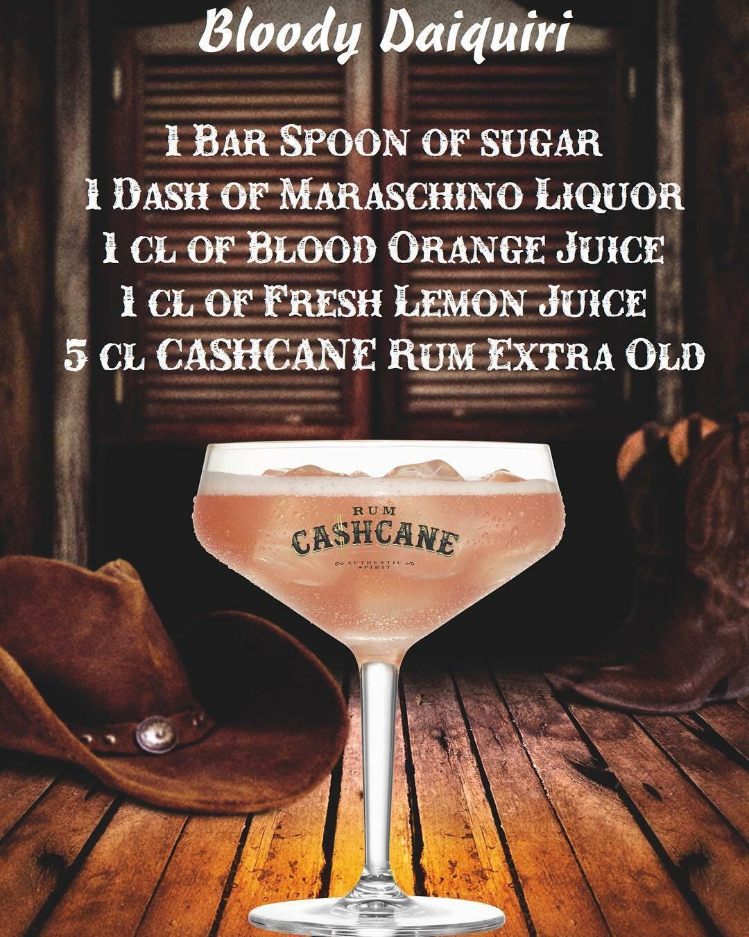Bloody Daiquiri - XO Drink