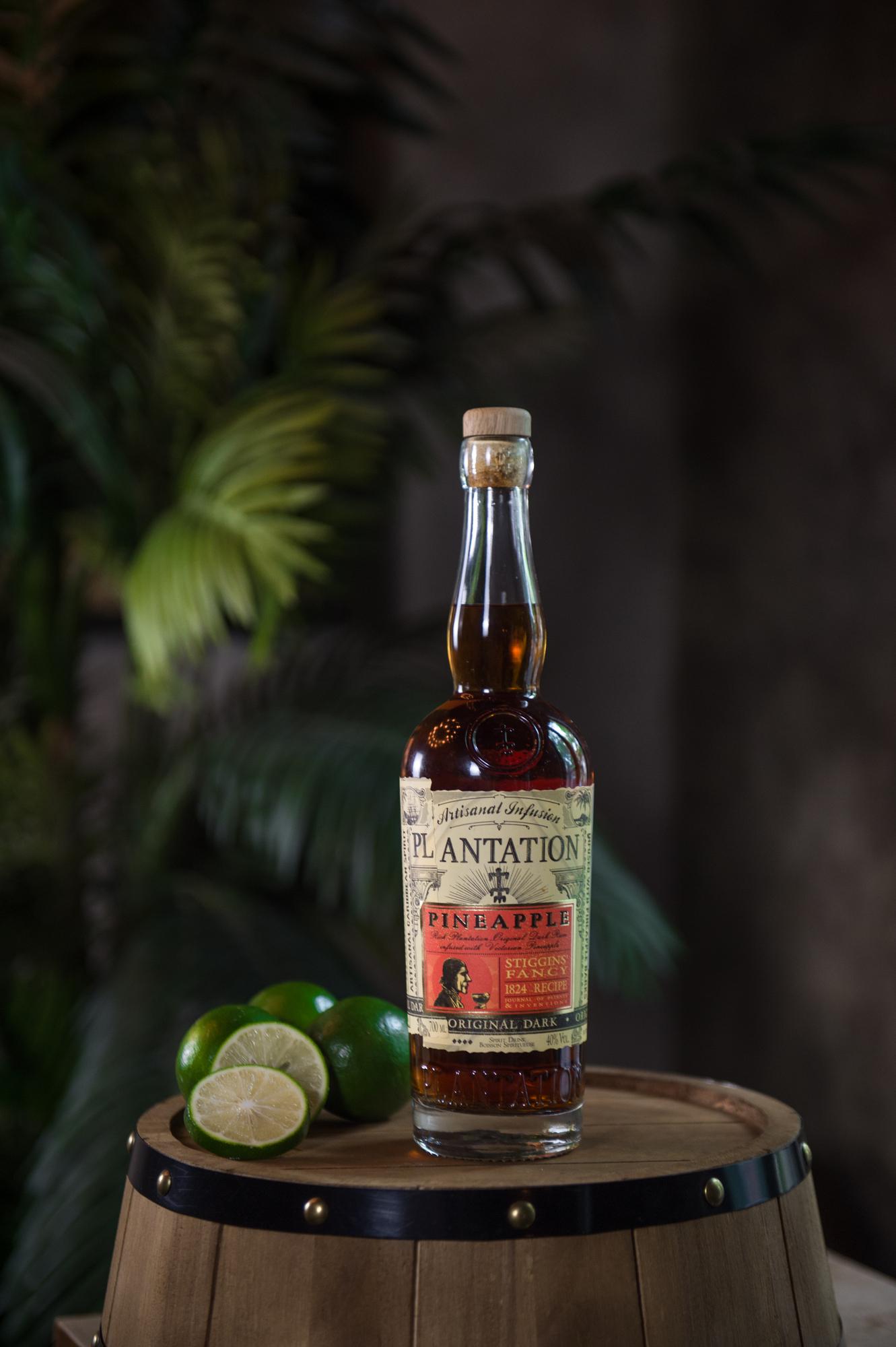Plantation Stiggins Fancy Pineapple bottle