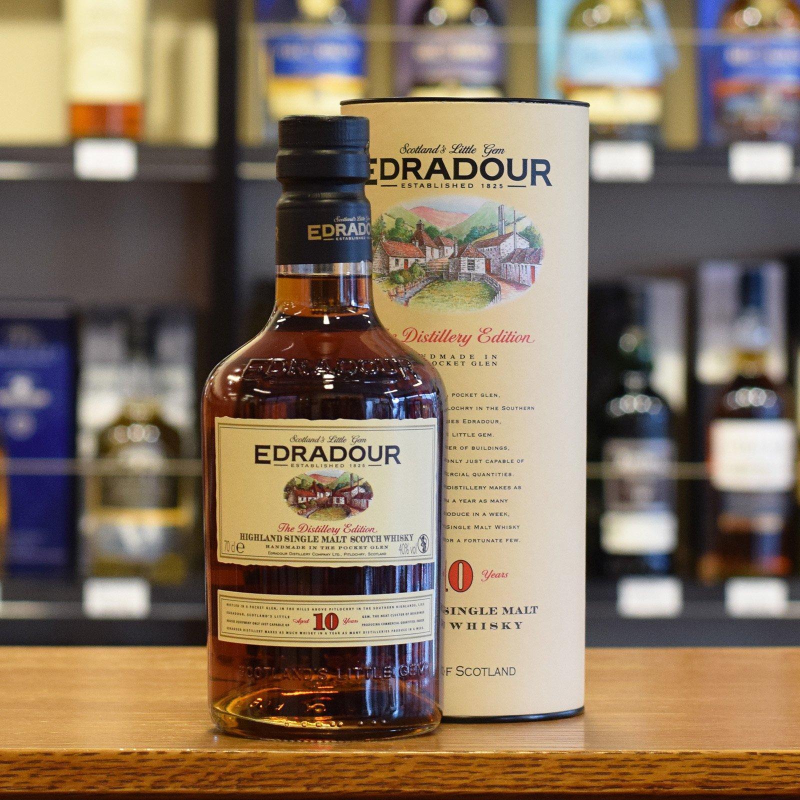 Edradour whisky 10 y.o.